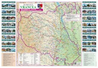 Harta Judeţul Vrancea
